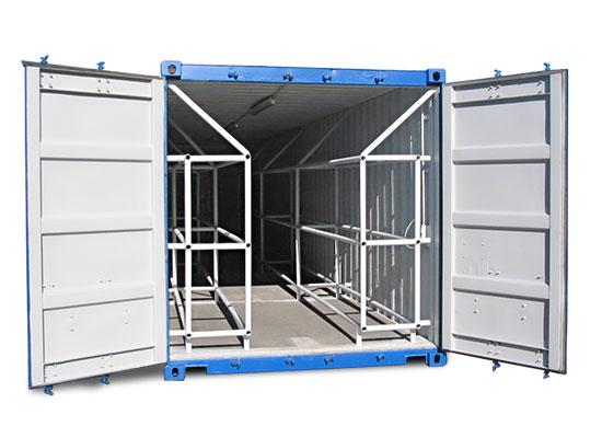 der reifencontainer ist ein echter spezialist unter den containern. Black Bedroom Furniture Sets. Home Design Ideas
